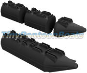9' Long, 26 Wide Modular Plastic Boat And Dock Pontoons Logs Floats Pair New