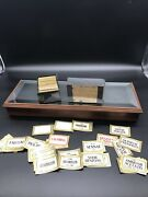 Large Lot Of Antique New Old Stock Gold Trim Apothecary Bottle Labels In Box