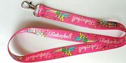 10pcs Tinker Bell Lanyard For Bus Subway Id Card Keychain Holder Gift