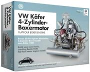 Vw Beetle Model Engine Kit With Collectorand039s Book