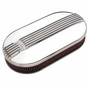 Edelbrock 4119 Classic Series Oval Air Cleaner Assembly