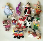 Alice In Wonderland Complete Set Of 11 W/ Tags Beanies Plush 8andrdquo Very Rare Dodo