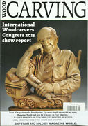 Wood Carving Magazine Projects To Carve January / February 2020 Printed In Uk