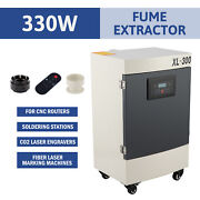 330w Air Purifier 5 Stage Filter Fume Extractor For Co2 Laser Engraver Machines