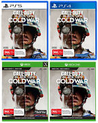 Call Of Duty Black Ops Cold War Ps5 Ps4 Xbox One Series X Action Shooter Game
