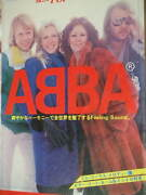 Abba Best Pop Special Music Book Score Photo 47songs Vintage Discography Story