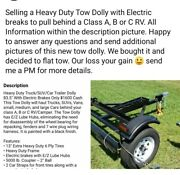 Tow Dolly With Electric Brakesandnbspbrand New