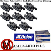 Engine Ignition Coil And Acdelco Double Platinum Spark Plug For Chevrolet Corvette