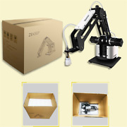 3-axis Mechanical Robot Arm With Air Pump Remote Control Adapter Hand Grab X-top