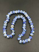 Old Ancient Antique Peking Glass Beads Chinese Crumb Vintage 19 Century