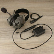 Fcs Amp Dual-channel Pickup Noise Reduction Tactical Headset V60 Ppt Prc148/152