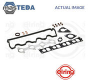 Engine Top Gasket Set Elring 498980 I For Opel Astra Hvectra Czafira B 1.9l