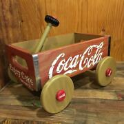 The Franklin Mint Coca-cola Wooden Trolley Wagon 300�240�h240mm Japan 3737