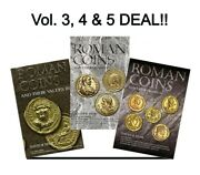 Roman Coins And Their Values Vol 3 4 And 5 Ad 235 -491 Reference Guide Books Gift