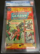 Justice League Of America 116 Cgc 8.5 Dc, 1975 100 Page Giant Cardy