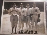 Baseball Mlb Perfect Game Pitchers 1937 Ted Lyons Wes Farrell Photo Card Chicago
