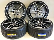 21andrdquo Staggered Wheels Rims Fit Mercedes Benz Amg S Class S550 06-2020 Gray 5x112