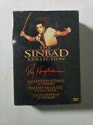 The Sinbad Collection [7th Voyage / Golden Voyage / Eye Of The Tiger] New Sealed