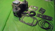 377 Rotax Aircraft Engine Piston Top End Rebuild Kit Std W Bearings And Gaskets