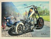 Motor Marc Lacourciere Vietnam Wall Giclee On Canvas H/signed And Numbered Coa
