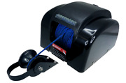 Pactrade Marine Black Electric Anchor Winch Led Light Remote 100ft Power Button