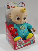 Cocomelon Musical Bedtime Jj Doll W Teddy Bear Yes Yes Bedtime Song Netflix New