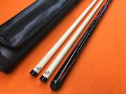 Tiger Carom Cue Butterfly Bc-40 With Two Shafts And Case.