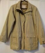 Free Country Coat Jacket Woman's Size Xl Special Edition Snap And Zip Many Pockets