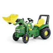 Rolly John Deere Pedal X-tractor With Loader Ride On Toy For Kids Trike
