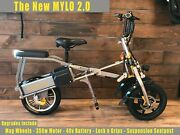 Mylo Folding Three Wheel Electric Scooter. Usa Seller And Service Center.