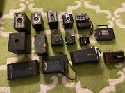 Incredible Vintage Antique Kodak Camera Collection Brownie, Folding, Other