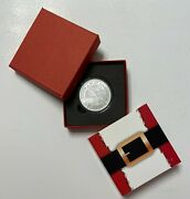 2020 The King Is Born - Rejoice 1-ounce Coin In Capsule And Santa Gift Box