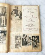 Vintage Scrapbook 1947-49 Omaha News Clippings Music Programs Ads