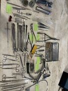 Huge Lot Of Antique Vintage Medical Surgical Tools And Instruments