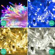 Fairy String Lights 10-1000 Led Clear Cable For Christmas Tree Indoor And Outdoor