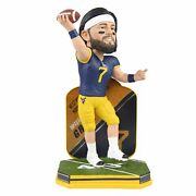 Will Grier West Virginia Mountaineers Panthers Name And Number Bobblehead Ncaa