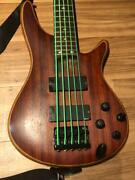 Ibanez Korn 5 String Fieldy Model Mahogany Bass Guitar Adx5 Made In Japan 3947