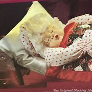 """Vtg Mrs. Santa Claus Animated She Snores And Whistles """" Jingle Bells, Chest Moves,"""
