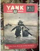 3 Books Over 120 Years Old And A Yank 1944 Magazine