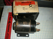 Delco Starter Solenoid New 6v D-936 1114310 Chev Car And Truck Gmc