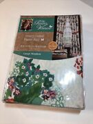 The Pioneer Woman Country Garden Window Curtain Panel Pair 40w X 84l Set Of 2