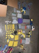 Rokenbok Construction World And Monorail Toy Set Compatible W/ Lego