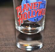 Planet Hollywood Collectible Shot Glass 3 1/2 Tall Shooter Seattle Washington
