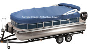 New Sun Tracker Mooring Cover For 2017 Fishinand039 Barge 22 Blue