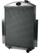 Afco Racing Radiator And Fan 27 W X 18 H X 6 D Center Side 80147-s-ss-n