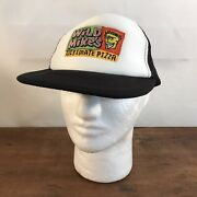 Wild Mikeand039s Ultimate Pizza Polyester Foam Mesh Snapback Trucker Hat Cap Ch43