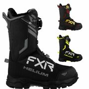 Fxr Racing F20 Helium Boa Menand039s Hydrx Pro Membrane Snowmobile Boots