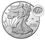 End Of World War Ii 75th Anniversary Silver Coin And Medal In Hand