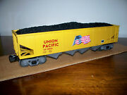 Mth Train 30-79425 Union Pacific 4-bay Hopper Car With Operating Coal Load