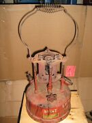 Vintage Otto Bernz Always Reliable Fire Pot Lead Smelter Very Nice Example